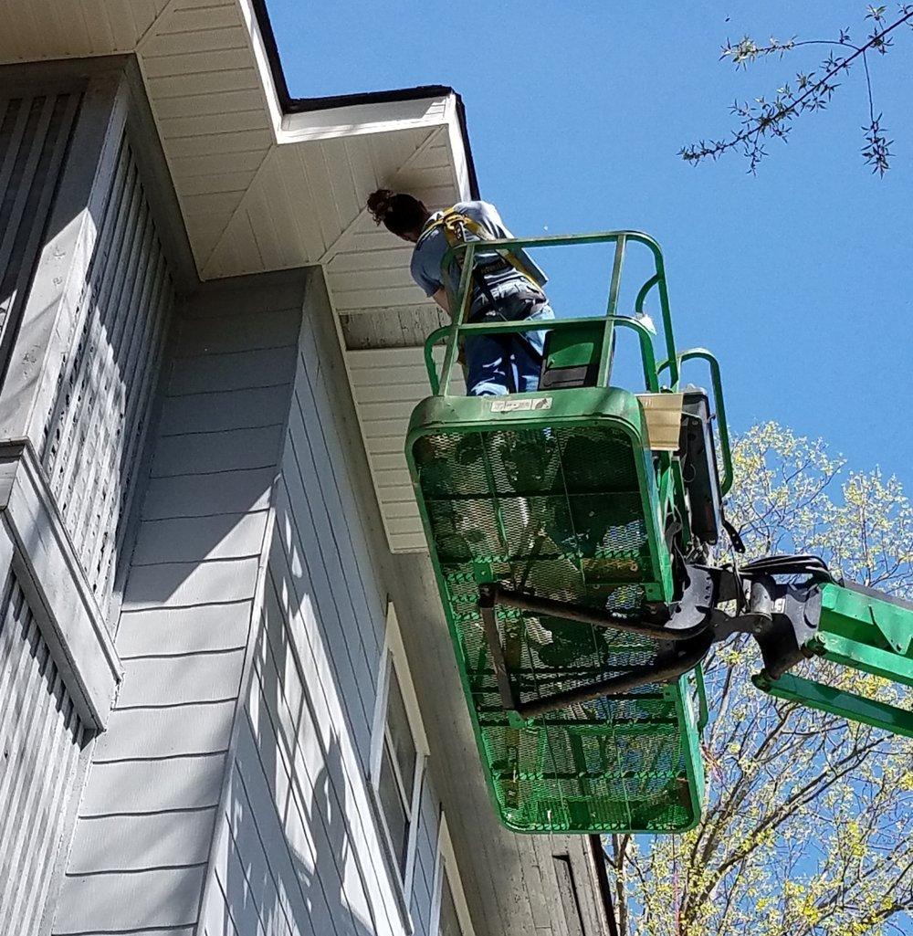 Fascia Repair and Gutter Installation Asheville North Carolina