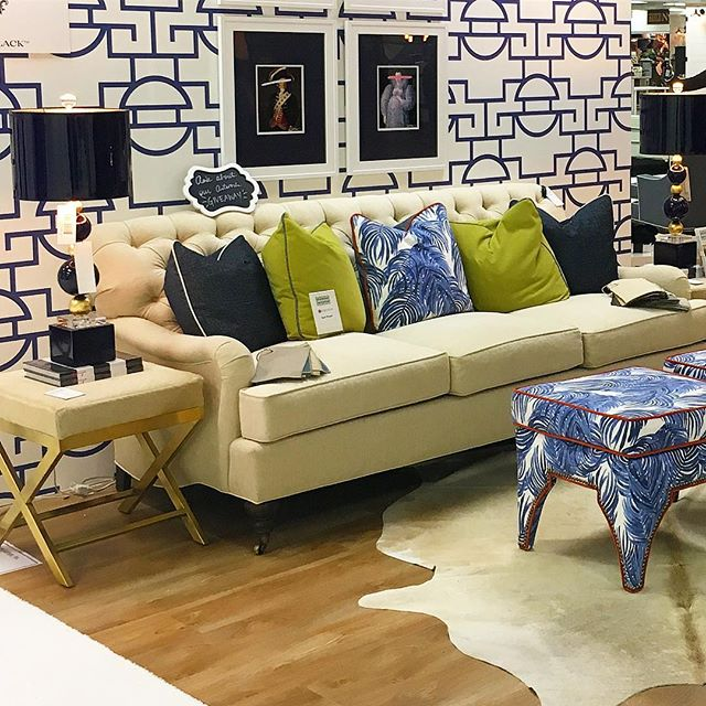 Warming up in this hot spot at #ATLMKT.  Such a #Swell vignette by @taylorburkehome.  #playingfavorites