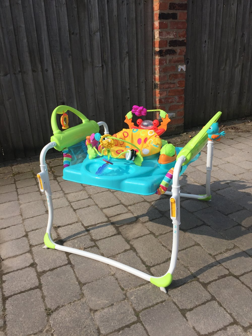 Fisher Price Step and Play Jumperoo Walker £35.JPG