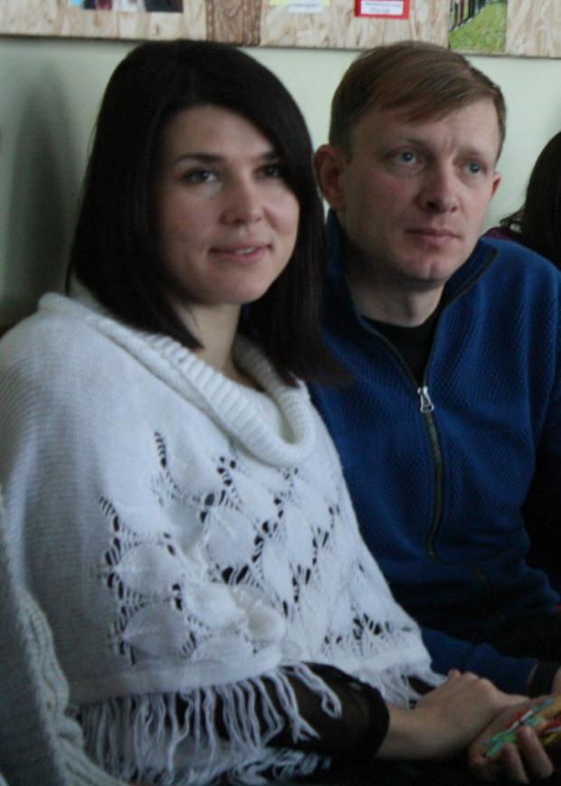 Oksana and Serhiy
