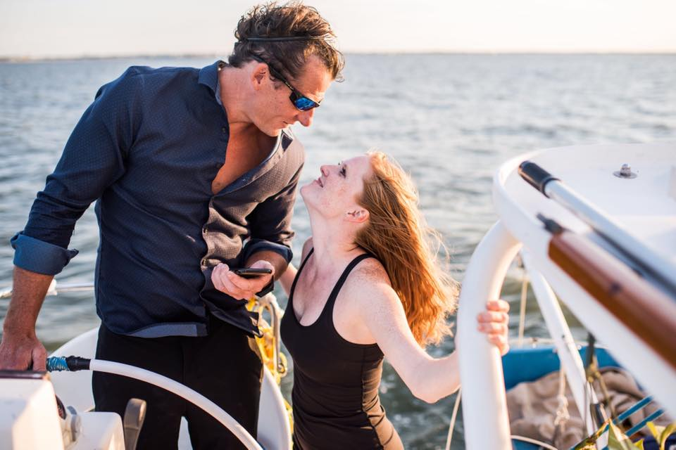 As a sailing couple, we learn more about patience and communication each and every day! Photo by: Stellar Exposures