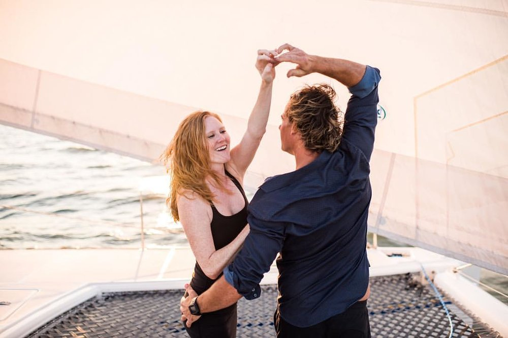 Meet Sheena & Ryan: A ballerina and a Sailboat Captain striving for the cruising lifestyle.