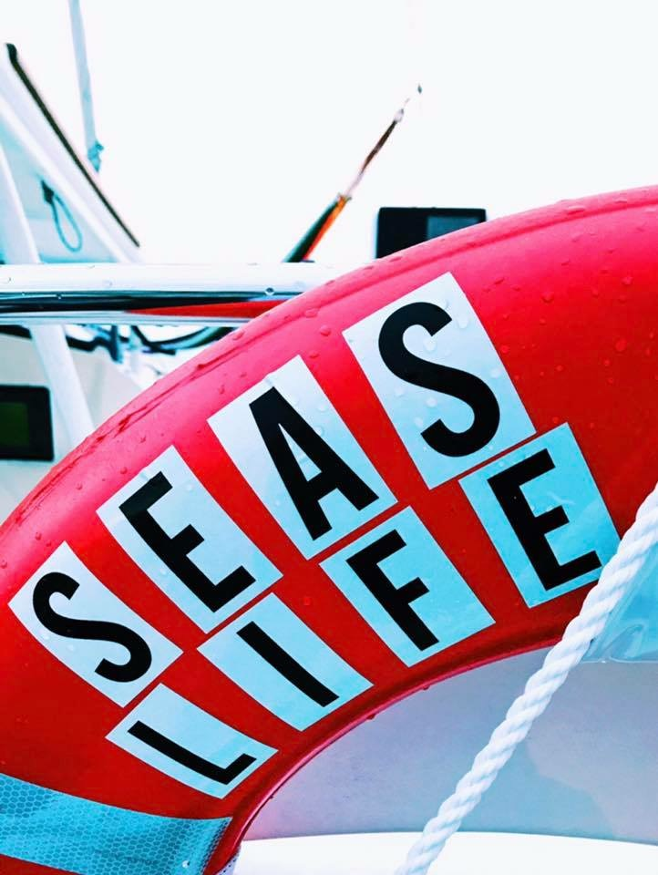 We moved on to Seas Life, a 43-foot Catamaran, in June 2017 based out of Norfolk, VA. Watch a video of  how it all started!