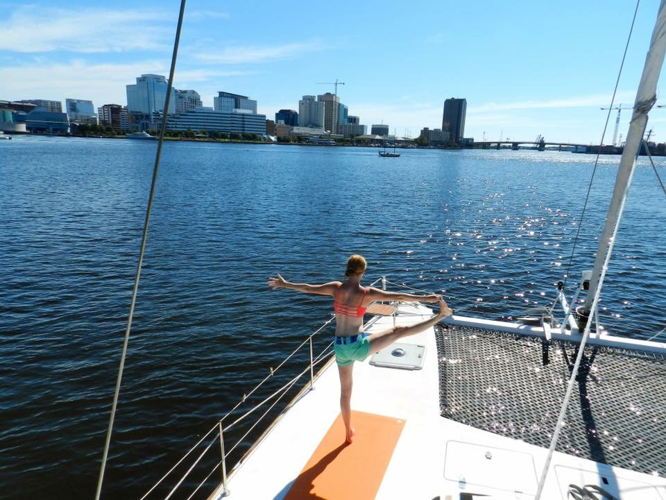 Sheena offers  Wellness Life Coaching  and Private Yoga sessions to the sailing community and beyond!