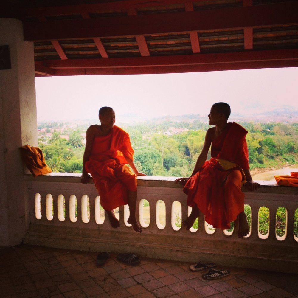 Monk chit chat