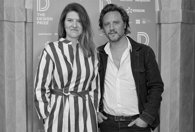 Hannes Van Severen and Fien Muller have received the 'Best Design Newcomer' prize.