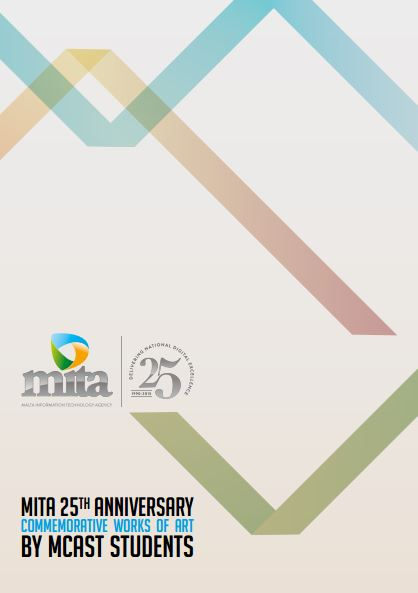 MITA 25th anniversary catalogue, opening night  at The Verdala Palace, July 2015