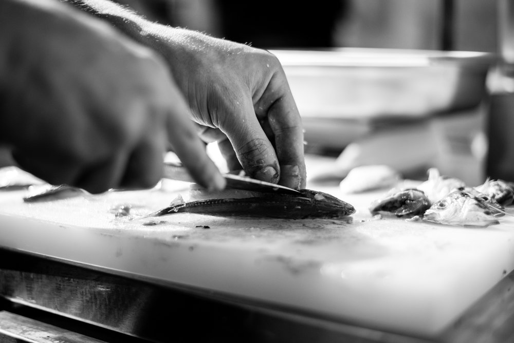 - The philosophy behind the food is complete transparency. The Guild wanted to reveal the gritty aspects behind their semi-open kitchen, and desired to ensure that customers never forgot where their food came from.