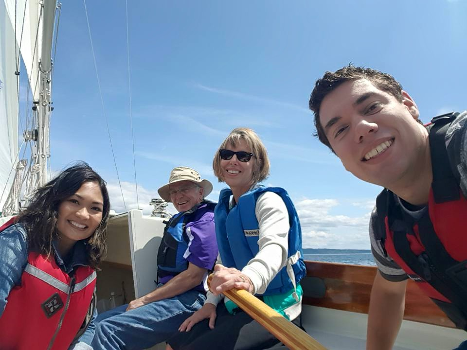 Family sail day