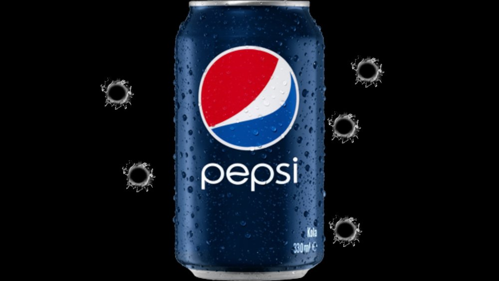 Remember, Its very easy to miss something even as large as a soda can, when you're aiming at the whole object.