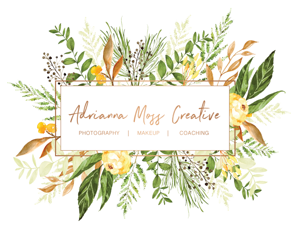 Special Events + Discounts - Gift Certificates are available! Email info@adriannamoss.com for more details.ONLINE ONLY OFFER!SAVE 10% ON ANY SESSION (WEDDINGS INCLUDED) BY MENTIONING THIS POST!OFFER VALID 3/1/2018 THRU 5/1/2018