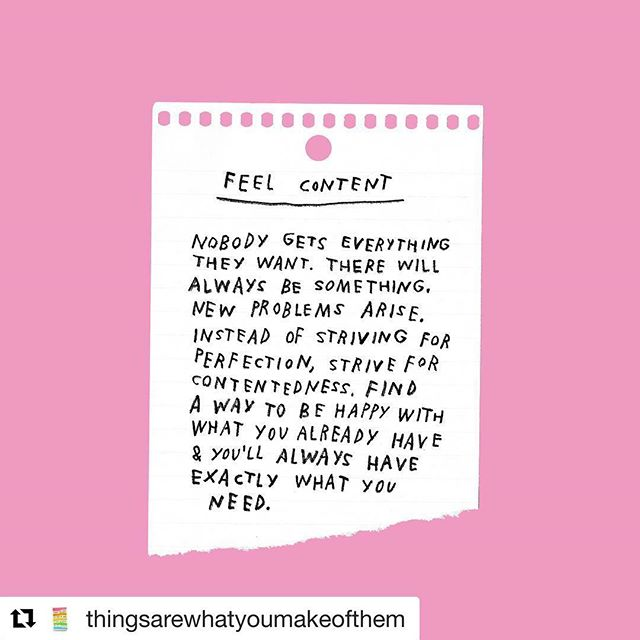 "Sometimes we get caught up in our routines and we easily forget the beauty of our lives. We don't need more stuff, more achievements or more money. We can be happy with what we have now, for what we have/are/live now.  Thank you @adamjk for the reminder.  #Repost @thingsarewhatyoumakeofthem ・・・ remember when ""content"" was a feeling and not filler . . . . . . . #quotedaily #rightbrain #contentment #happiness😊 #happier #itsabeautifullife #inspirationseed #inspirationquotes #inspirationalwords #positivevibes #positivismo #positive_energy #feelingreat #feelinginspired #gratitudequotes #gratitudeattitude #mondaymotivation #thingsarewhatyoumakeofthem #lovelifelaugh"