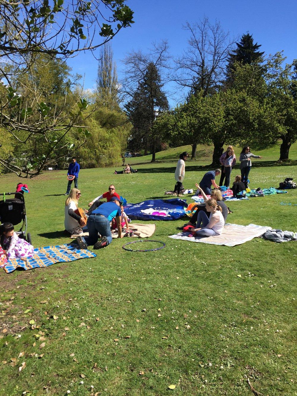 Queen Elizabeth Park Picnic