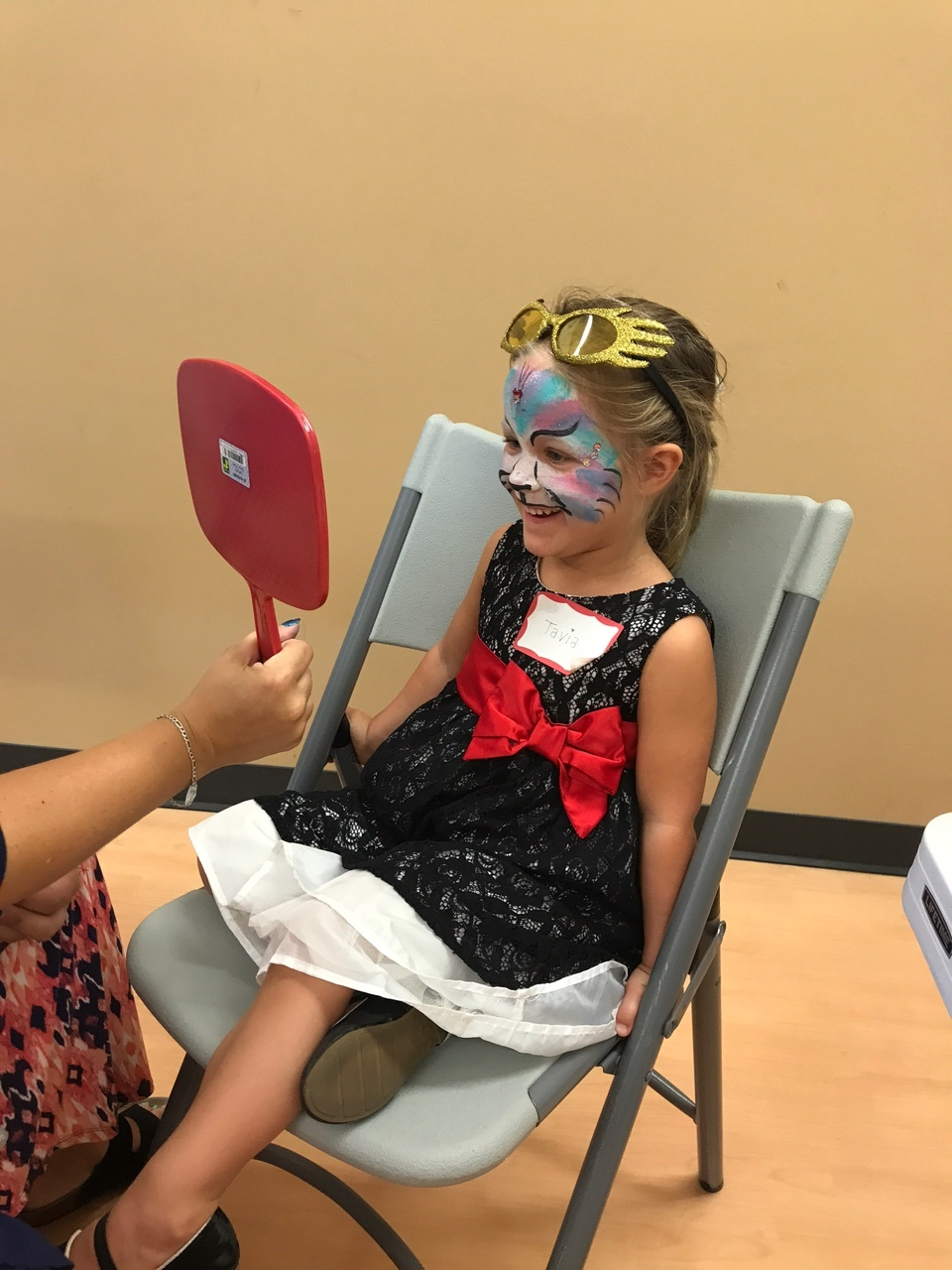 Face painting magic!