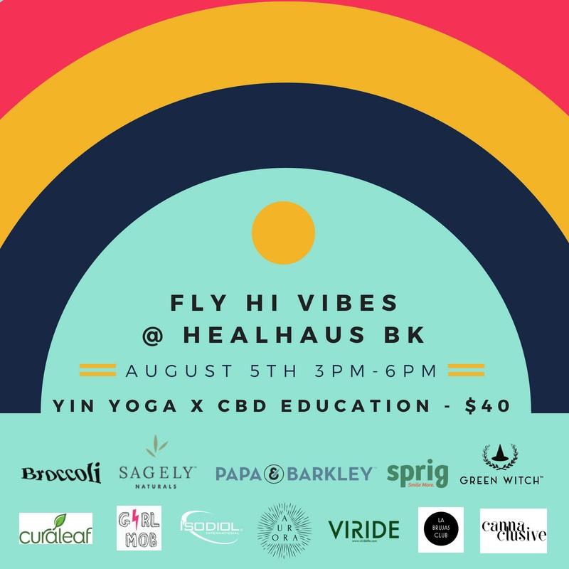 Viride Life Sponsors Healhaus' Fly High Vibes — Viride