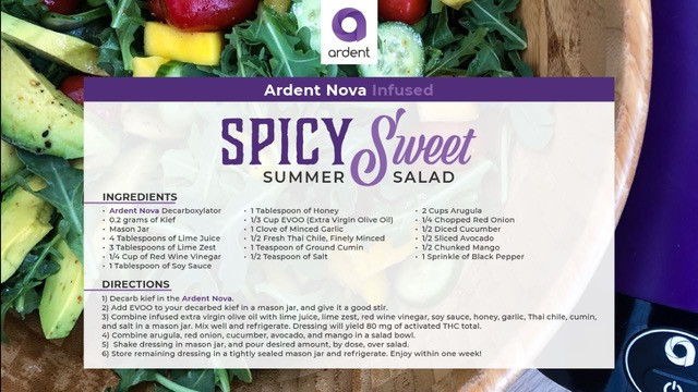 Make this Spicy Sweet Summer Salad with Ardent Nova