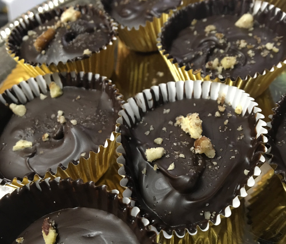 BethKaya's Dark Chocolate Coffee Almond Butter Cups will Make You Smile