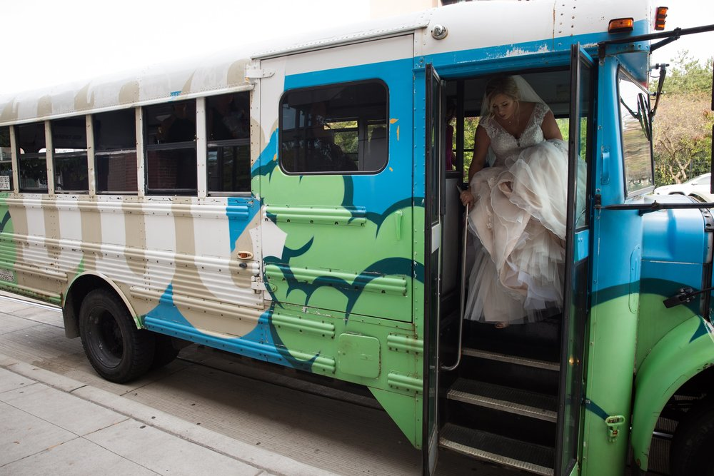 Not only is the  Detroit Bus Company an amazing transportation company, but we are head over heels for their art bus.