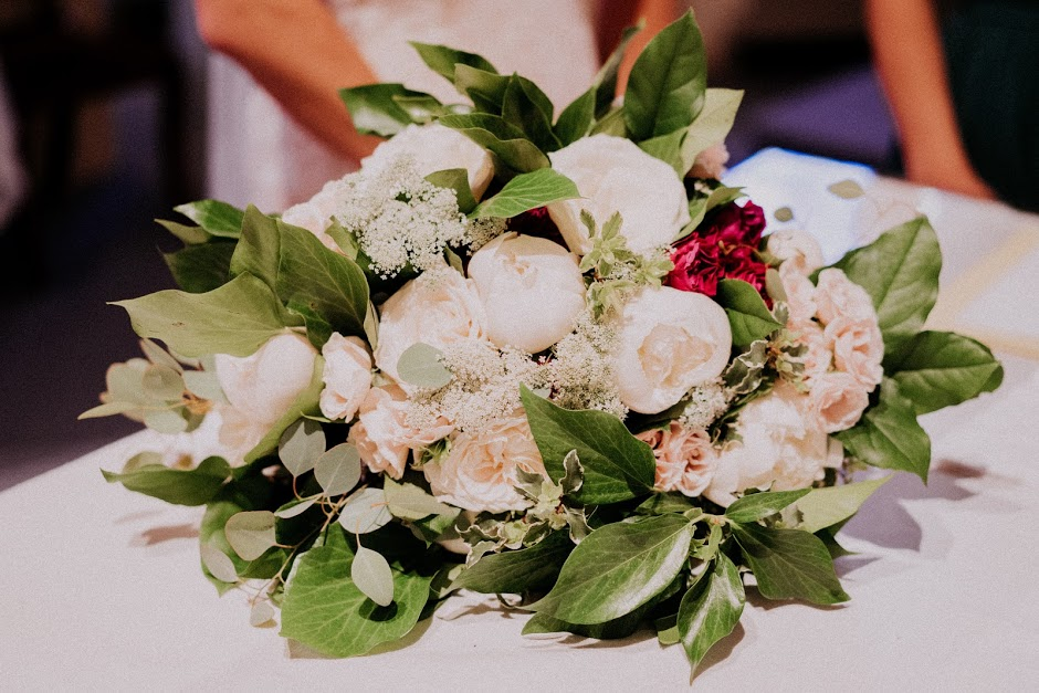 The perfect June bridal bouquet mix by Red Poppy Floral Design!