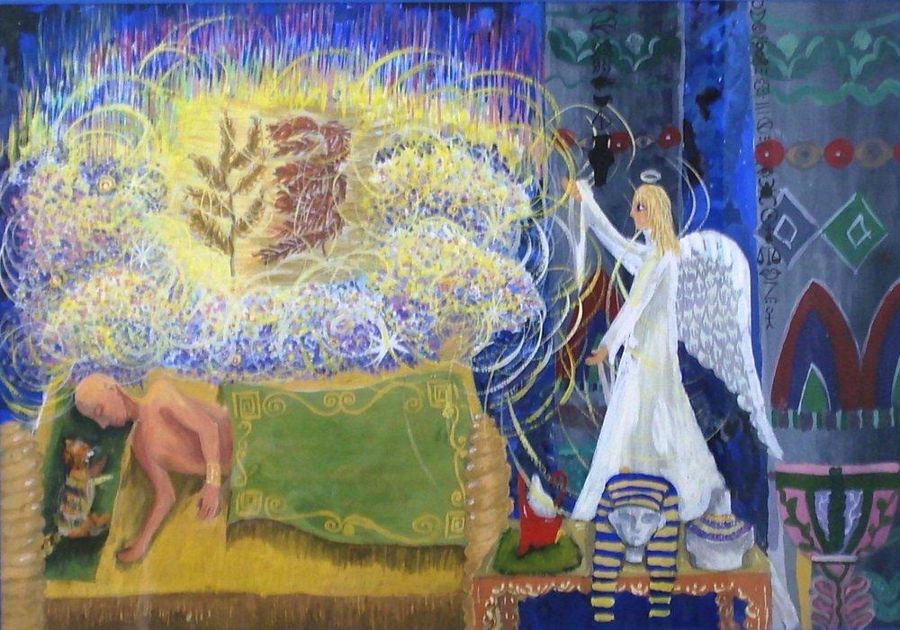 """Pharoah's Dream"" by Maria Nikulina, 13, Samara, Russia"