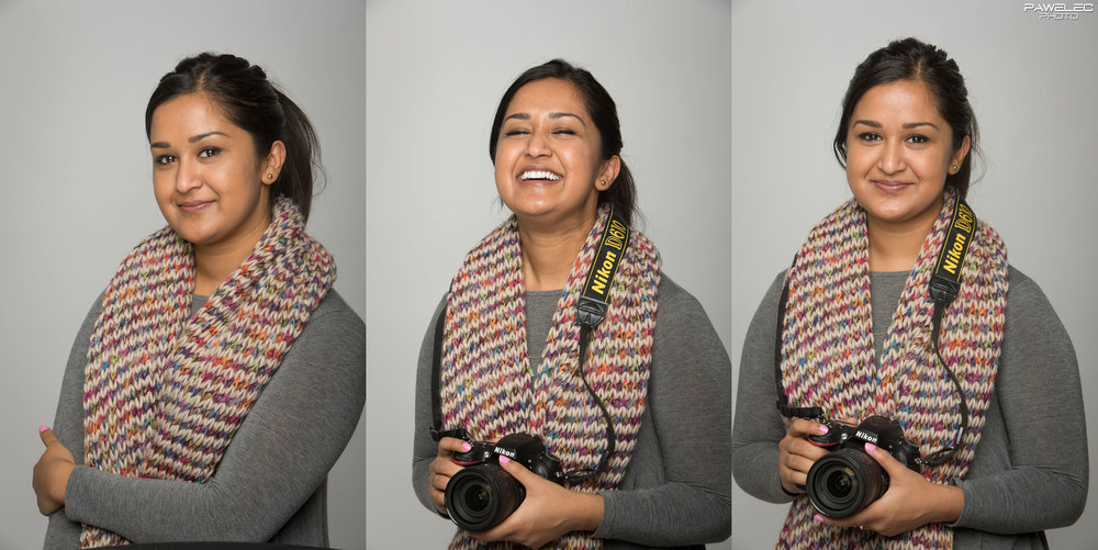 My new intern-assistant named Ria and yes I know, she shoots with a Nikon... eeew!