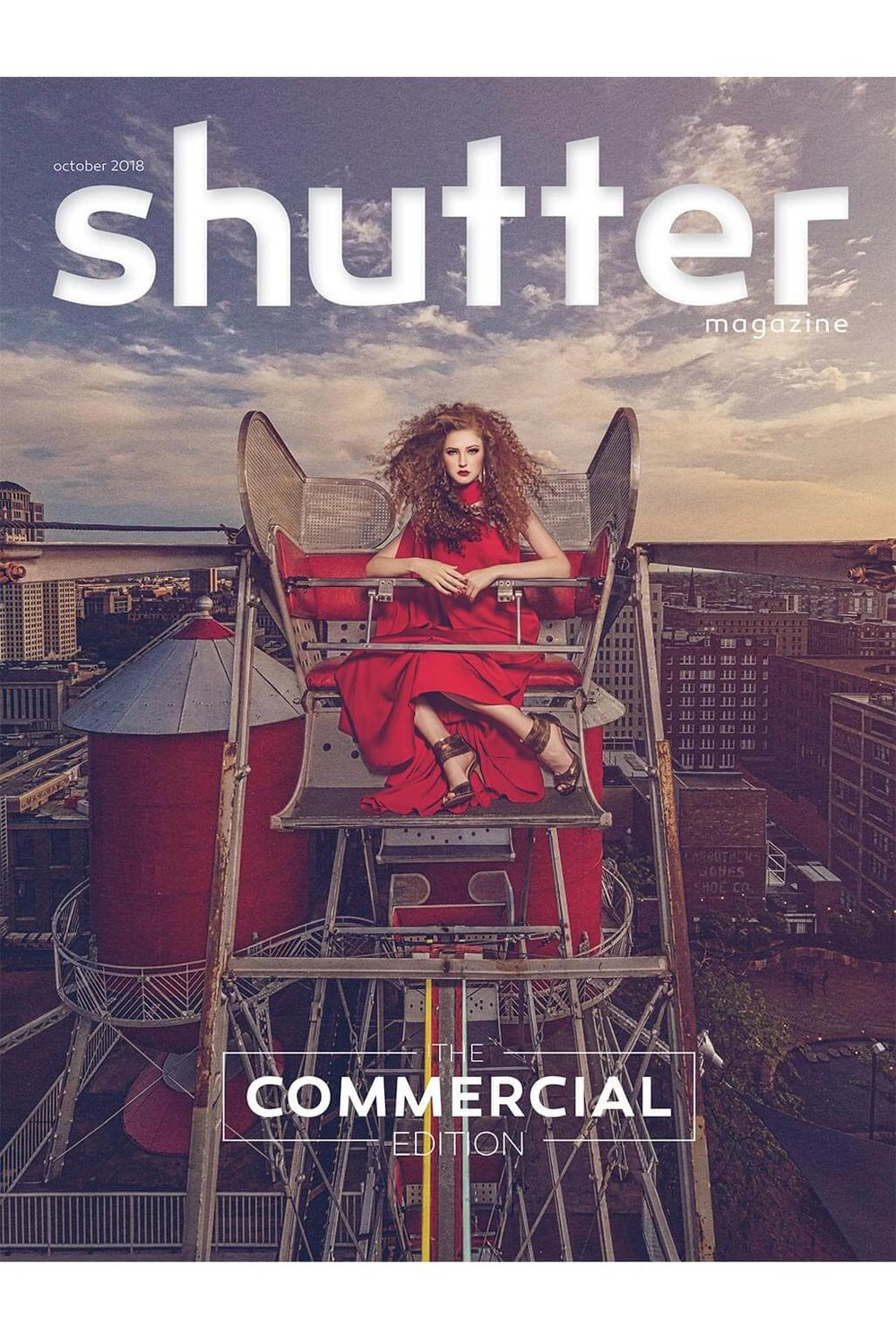 Featured in Shutter Magazine (Oct 2018) - The Commercial Edition - PAWELECphoto