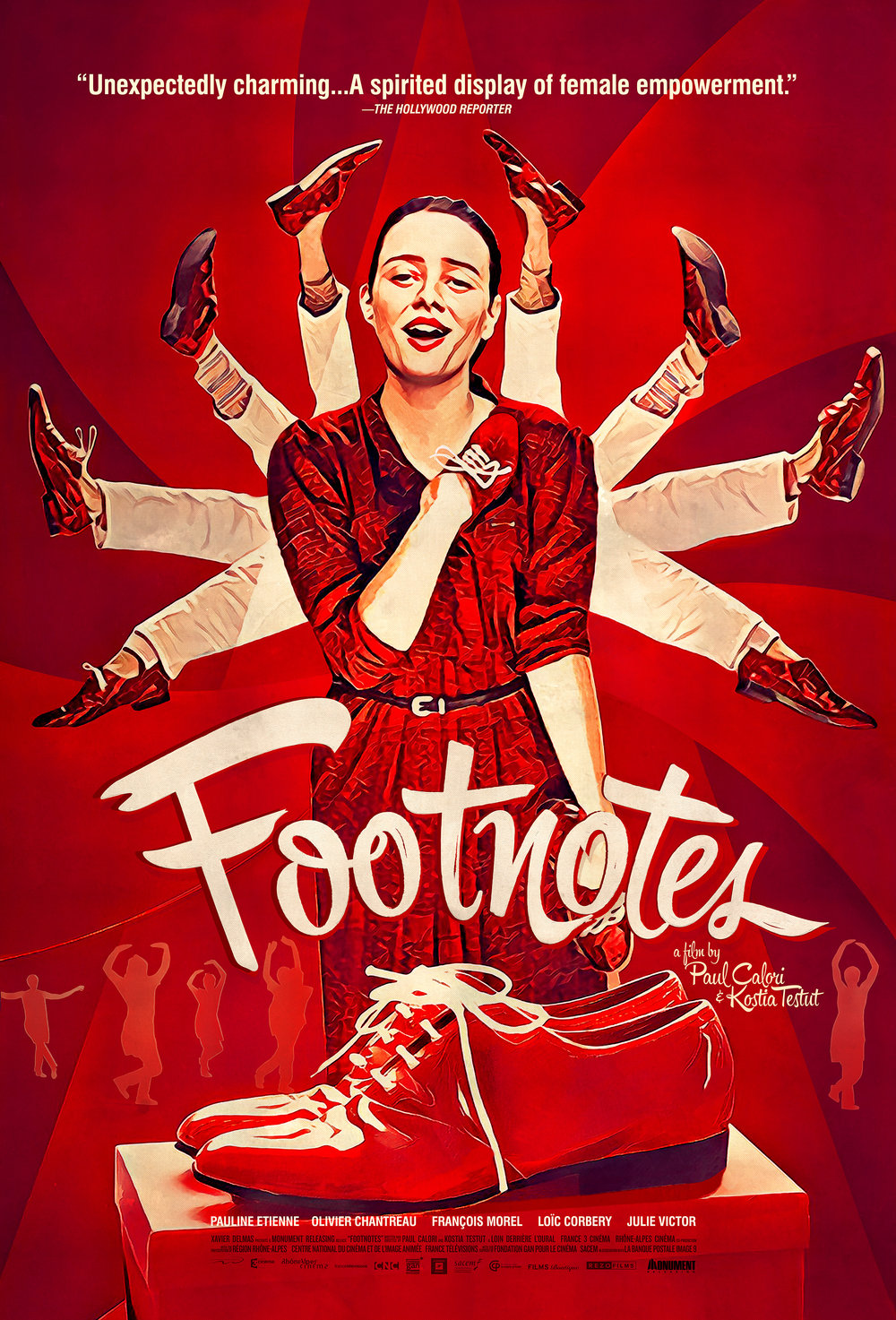Have a Spotify Account? - Listen to the official Footnotes soundtrack with original songs written by Olivia Ruiz, Clarika, and many more!