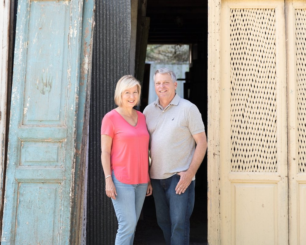 Owners Sue and Charles Phillips