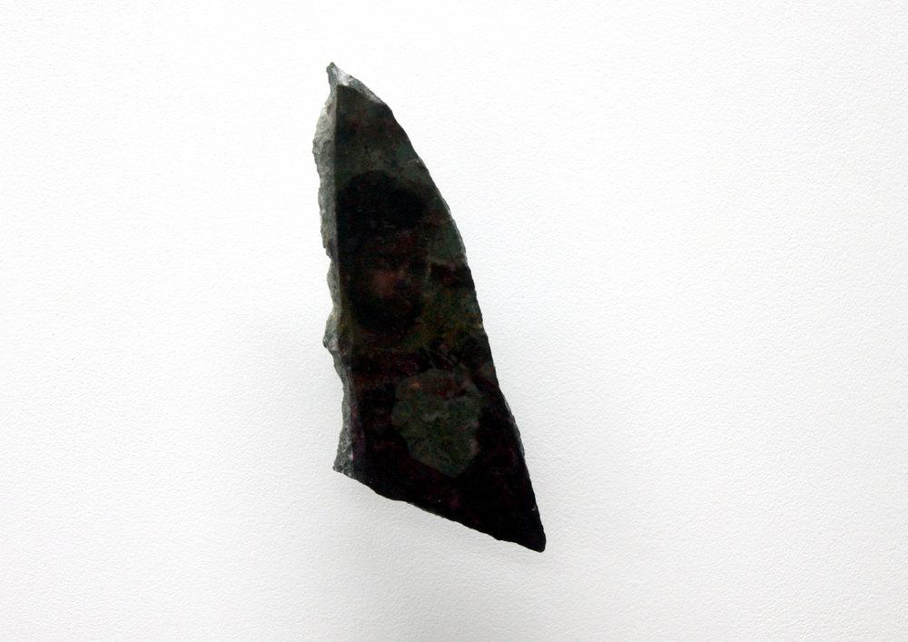 Edouard Burgeat,  L'inde en quelques pierres,  2018, Photographie argentique transférée sur marbre,  Baboo