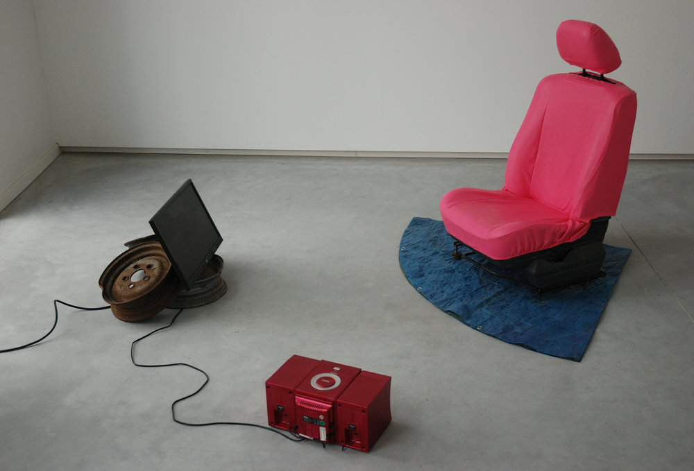 Pauline Gompertz,  Big Poppa , Installation audio video, 2018