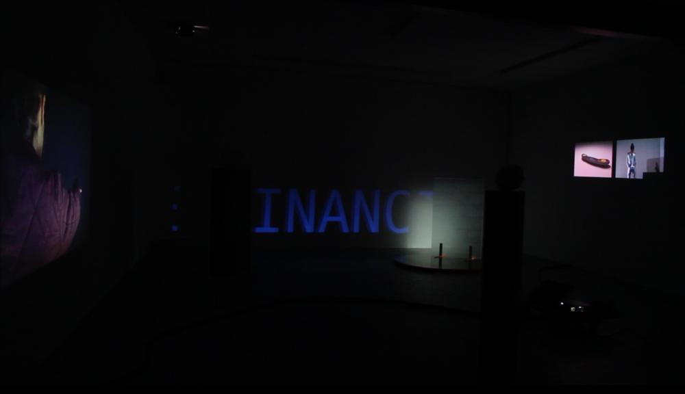 Installation view : Léa Viretto,  Hétéromation , Galerie Marchepied, November 2018