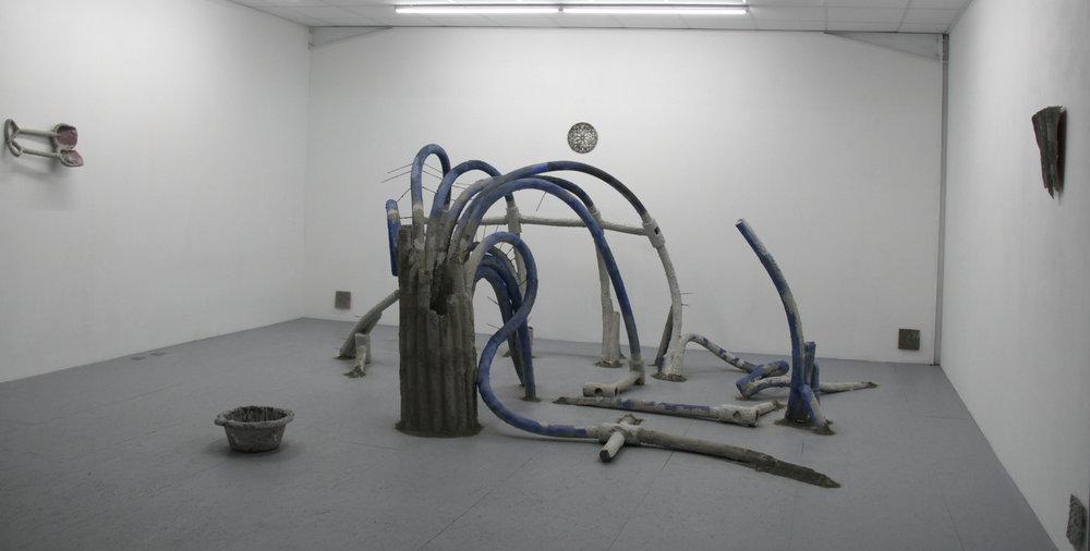 Installation view : Camille Coléon,  De perdition,  Galerie Marchepied, 2019