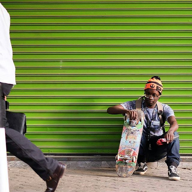 Space for skating #makespace #wocospace #nairobi #kenya #africa #skateboard #play #cities #connectedcity 📸 @stickylittleleaves
