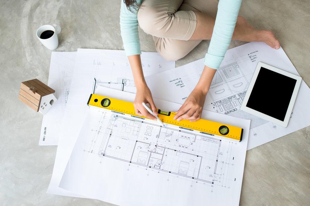 Designing a floor plan