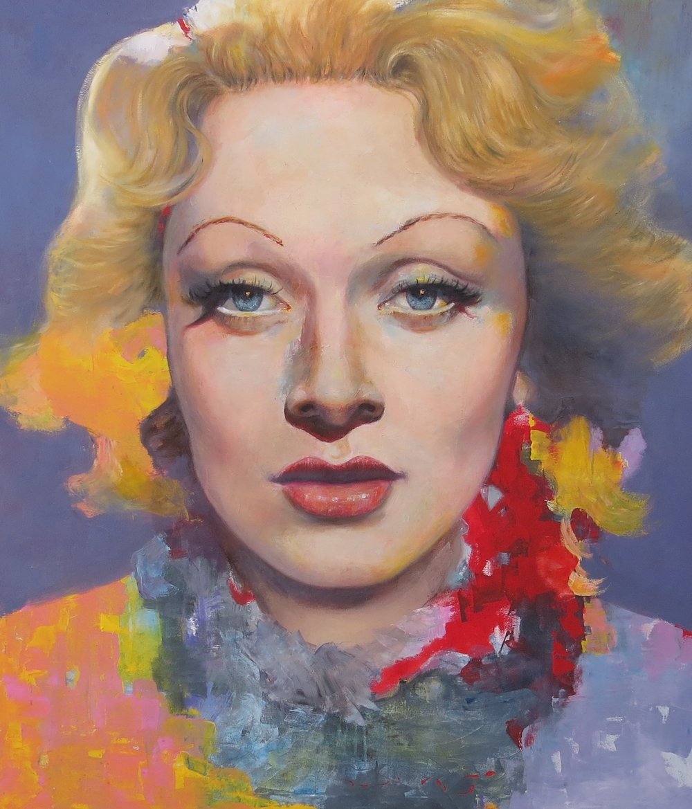 otra genia, Marlene Dietrich, y su mágica mirada