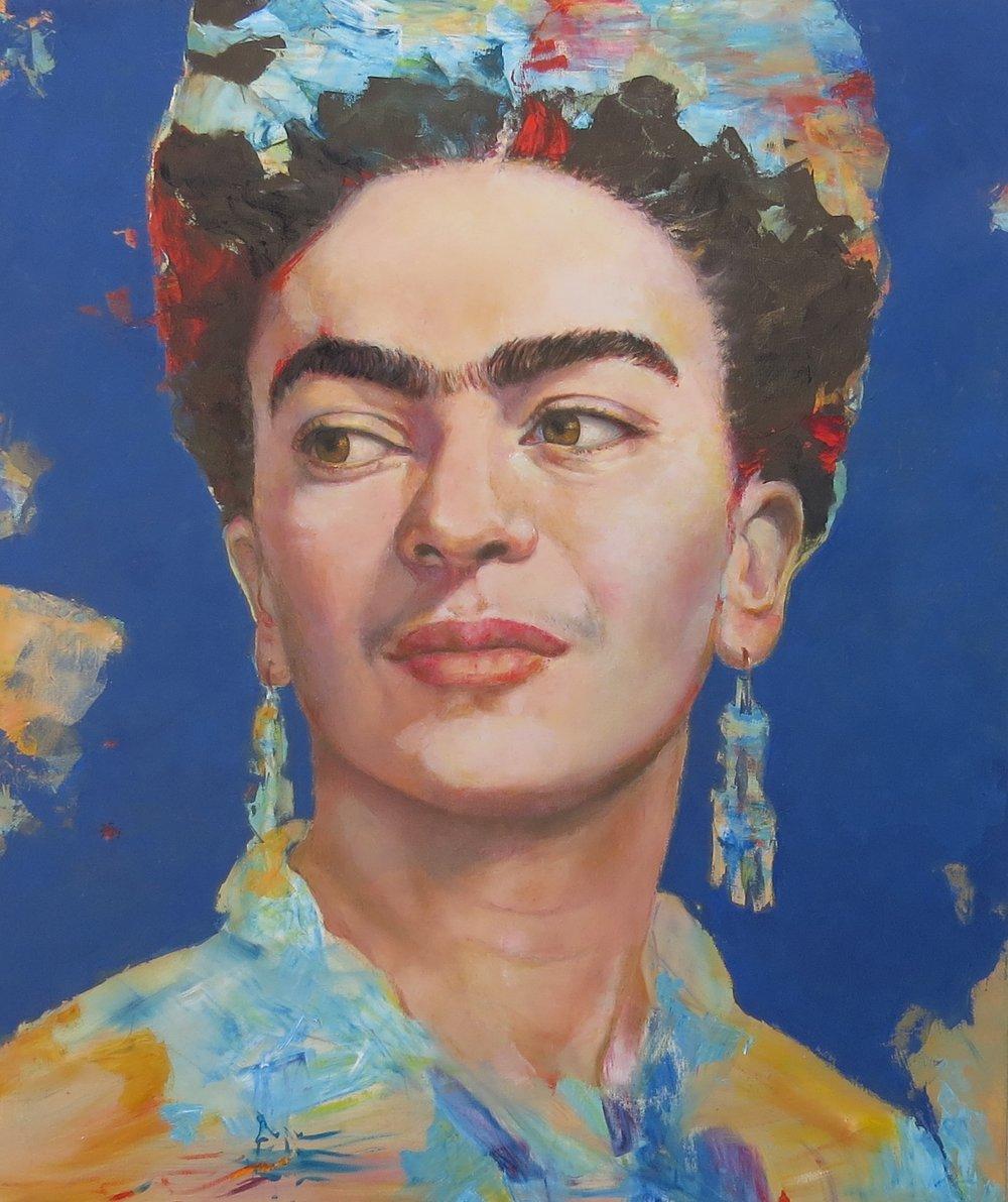 No podia faltar Frida, y veremos con quien sigo.... si hay algo que abunda en este mundo es gente talentosa que merecen ser recordados......