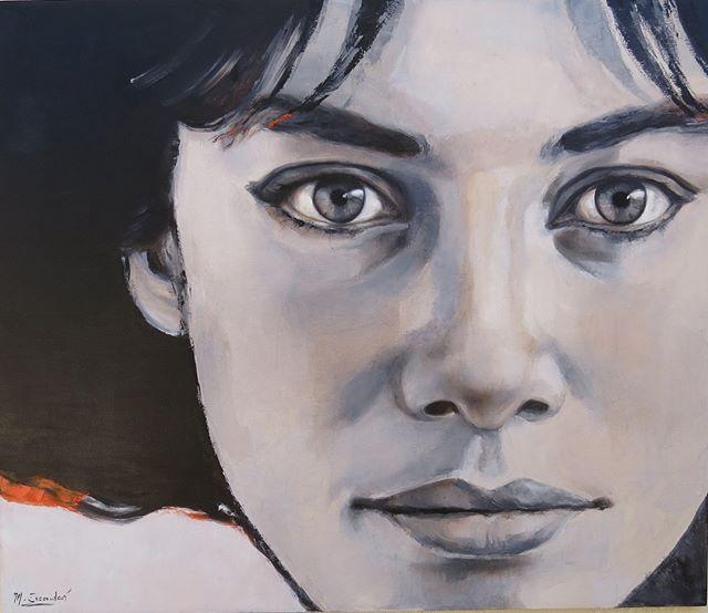 Feliz día a todas!! . . . . #contemporaryart #uruguay #oilpainting #arte #mujer #retratocontemporaneo #art #artgallery