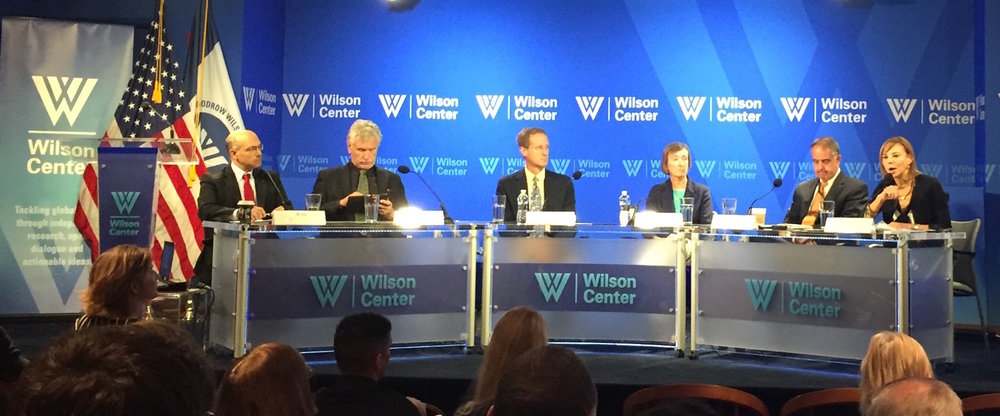 Arctic science policy roundtable at the Woodrow Wilson Center
