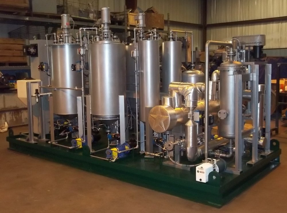 Small scale Biodiesel production plant