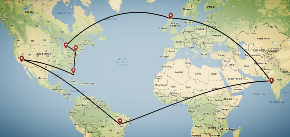 A Global Solution - Location of BurrowX Partners