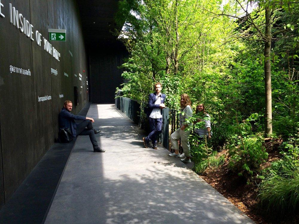 Natürliches Lebensgefühl im urbanen Raum.breathe.austria – Austrian Pavilion EXPO Milan 2015