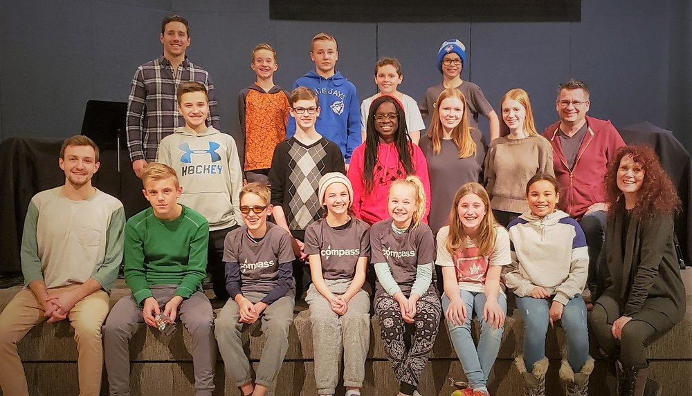2019 Windsor March Break Mission Team. Left to right, back row: Ian, Samuel, Cameron, Mitchell, Aidan. Middle row: Jesse, Carter, Precious, Breanne, Leah, Rod. front row: Tymon, Andrew, Wade, Abby, Trista, Lael, Sathya, Mary Jane. Missing from the picture are: Joelah, Adeleecia, Deanne, Marcia and Heidi