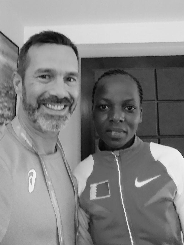 Rose Chelimo (Marathon Gold medal World Championships)