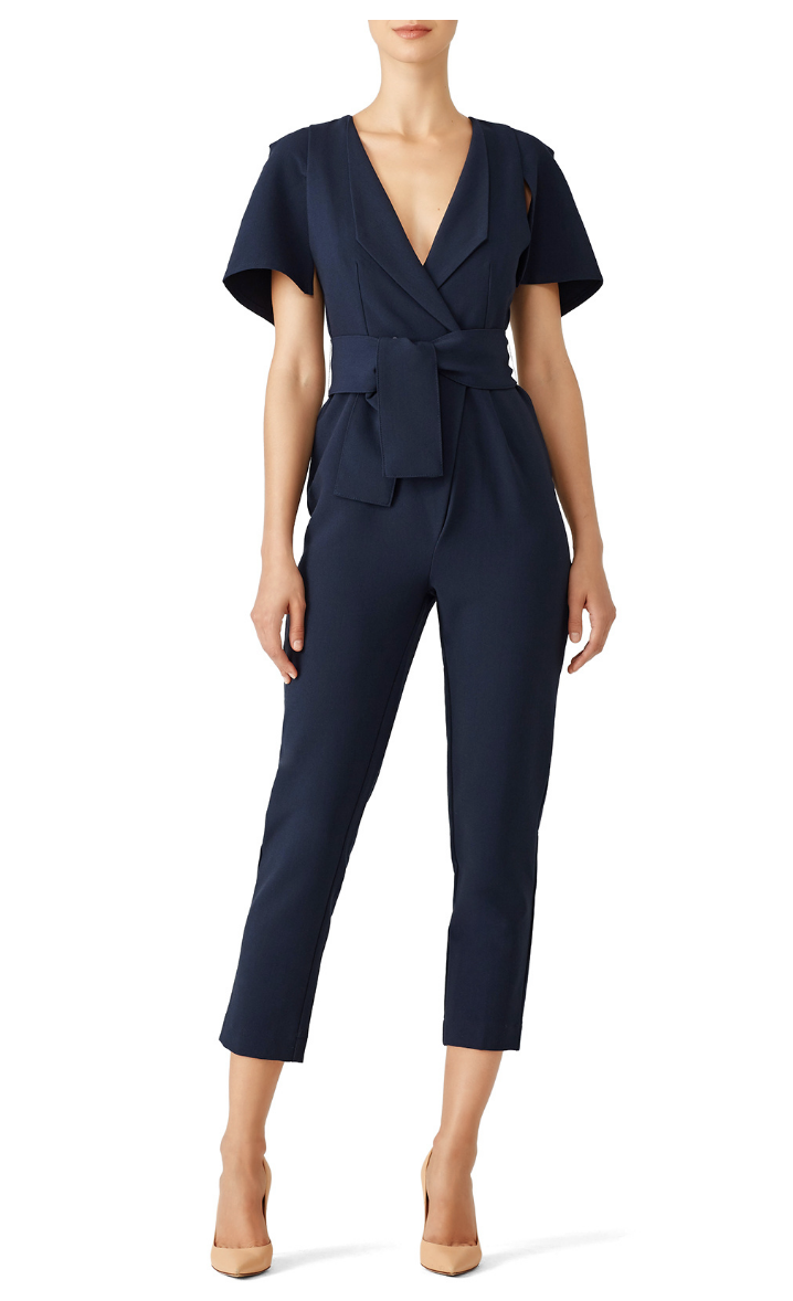 Navy Manhattan Jumpsuit