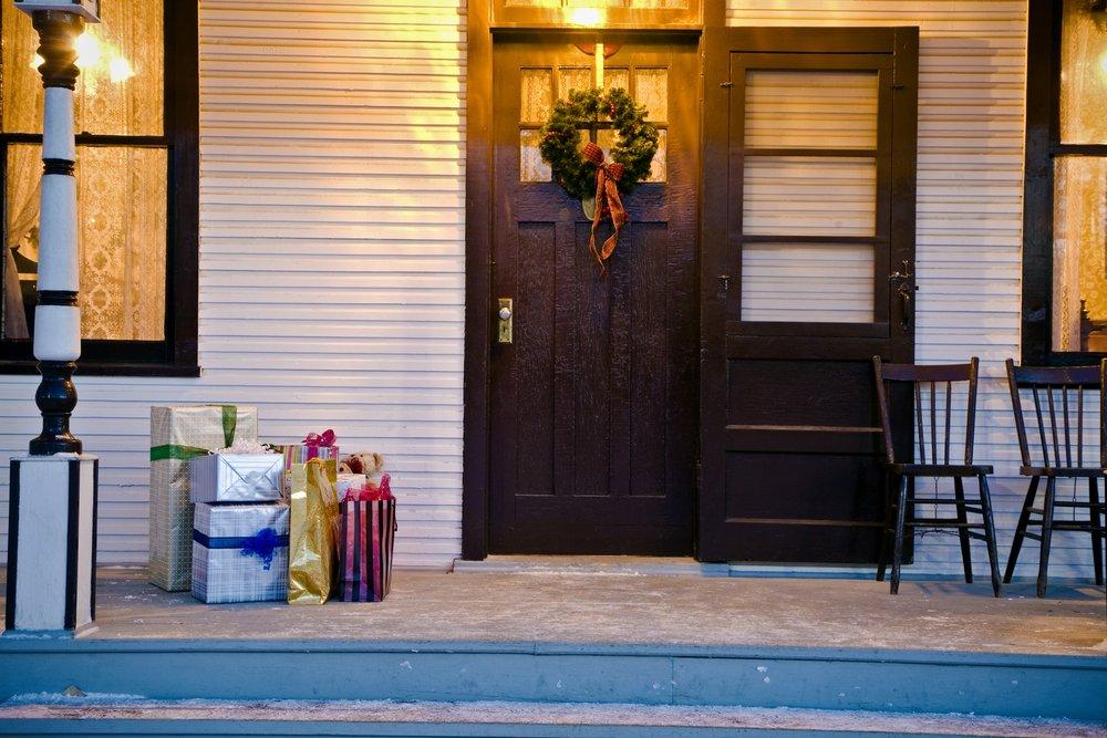 holiday package at door.jpg
