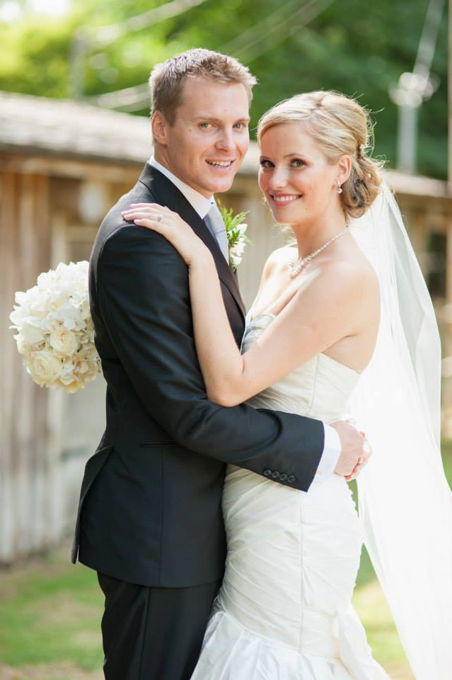 I felt beautiful in my dress on my wedding day and could not have been happier about my experience at The White Peony. I love supporting local, and it was great that I was able to pick a dress by a Canadian designer. ~ Ashley