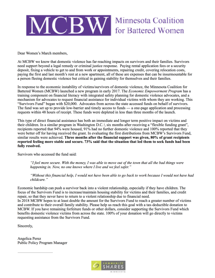 Survivor+Fund+letter+to+Women's+March.png