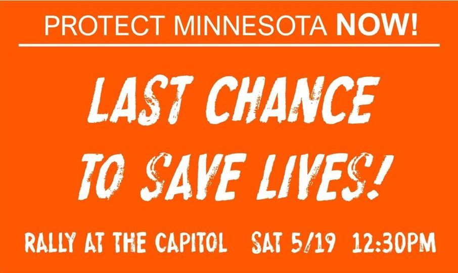 last chance to save lives, protect Mn