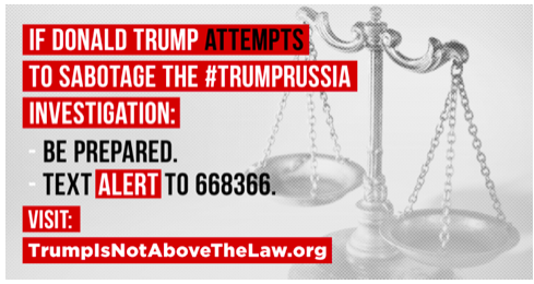 trump is not above the law #trumprussia