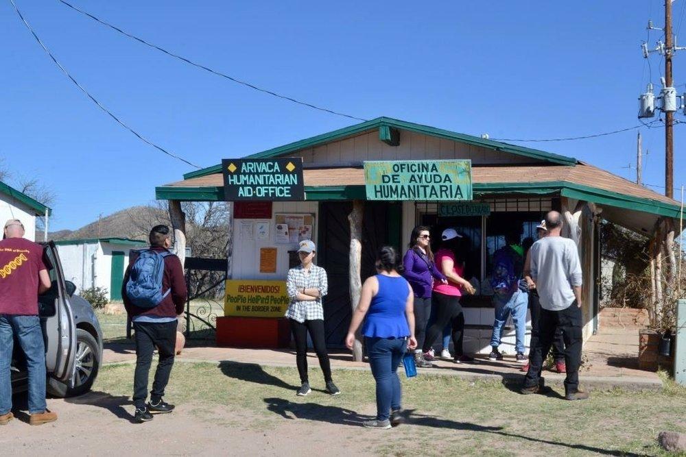 Copy of Arivaca Humanitarian Aid Office